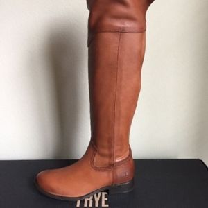 Frye Melissa Western Over The Knee BOOTS